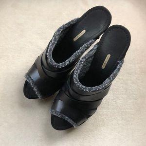 Max Studio high heel clogs